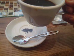 nalucafeのコーヒーのブタさん