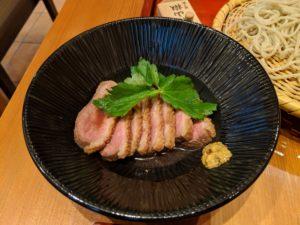 ひろしま蕎麦人の鴨ロース