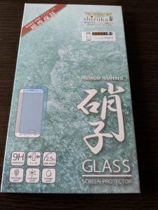 pixel3 のガラスフィルム