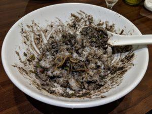 おどる汁なしタンタン麺